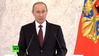 Putin: Russia not aspiring to be superpower, or teach others how to live  12/12/13