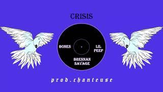 "(free) Bones & Lil Peep feat. Brennan Savage | Alternative Rock | Type Beat | ""Crisis"""