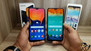 Galaxy A10 vs Galaxy M10 - Which Should You Buy ?
