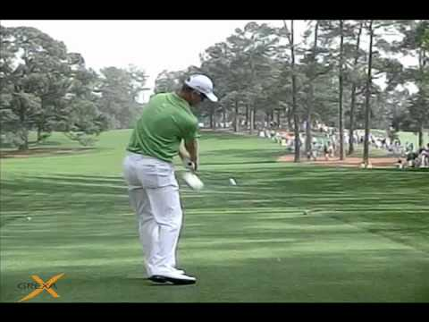 John Senden - 2012 Masters on the 17th tee - video by Grexa Golf