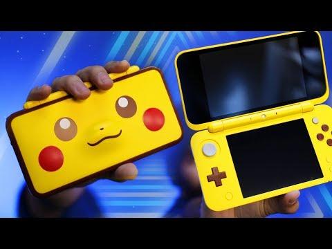 New Pikachu Nintendo 2DS XL Unboxing!