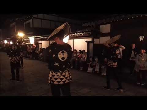 越中おわら月見の盆 (動画)