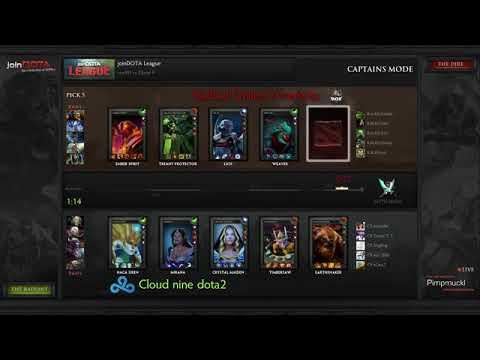 Cloud 9 vs RoX.KIS Game 1 - joinDOTA League - Pimpmuckl
