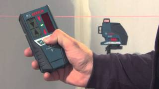 GLL 3-80 P Professional Line laser Line Lasers   Bosch power tools for professionals.flv