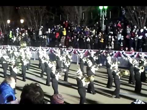 Little Rock Central High School at Inauguration Parade 2013