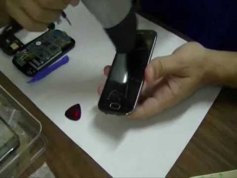 Galaxy Ace 2 I8160. Cambio pantalla Samsung . Desmontaje (Parte 1)