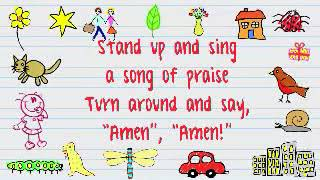 Stand Up (And Sing a Song of Praise) (Lyric Video) | Move to the Beat 2