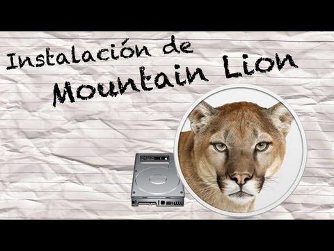 Instalación de OS X Mountain Lion & Como Hacer una Partición de Disco Duro en Mac