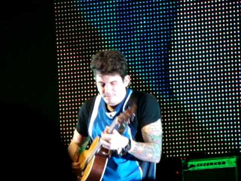 John Mayer--Acoustic Medley (My Stupid Mouth/Stop this Train/Tracing/Neon)