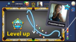 8 Ball Pool | Level 800 Special VS Fruzsina Śanta ~ Insane Trick Shots highlights
