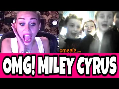 Miley Cyrus Prank Omegle (omegle Pranks) video