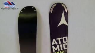 lyze ATOMIC NOMAD S MAGNET handmade 2016 + atomic XTO 12