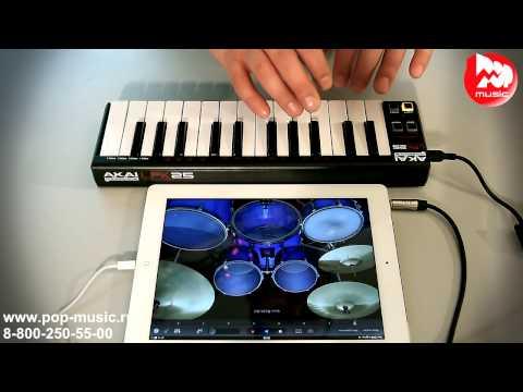 MIDI контроллер AKAI LPK25
