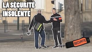 EMBROUILLE AVEC LA SECURITE ! Prank public
