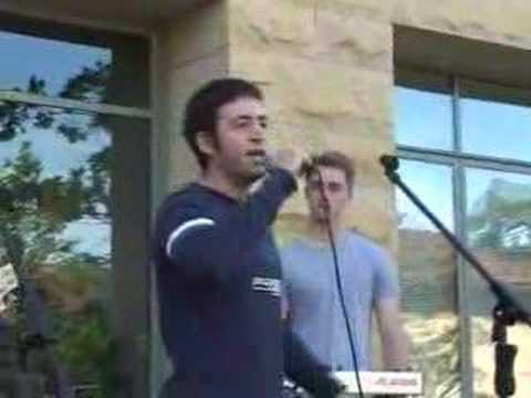 Monzy performs at Stanford Univ.