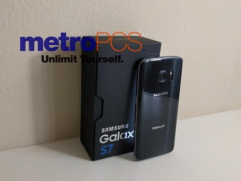 Galaxy S7 Metro PCS Unboxing and Preview