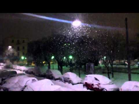 neve ancona piazza diaz febbraio 2012