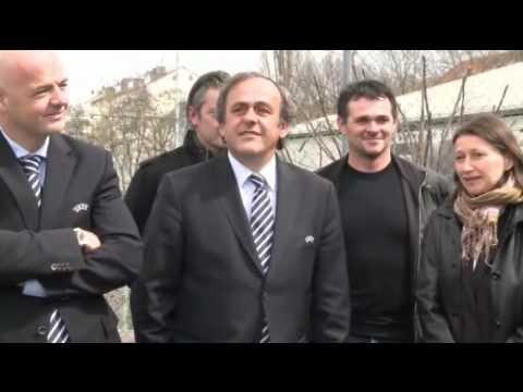 VIDEO Platini: |'Mondiali 2022 a Qatar in inverno'
