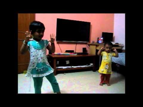 Hasini & Harika Dance - Bam Bam Bole song (Tare Zameen Par)