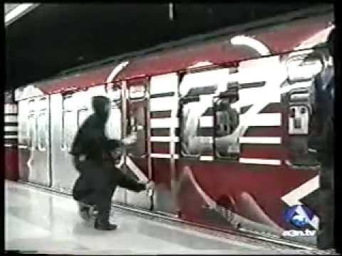 Antena 3 noticias - Graffiti en metro de Madrid