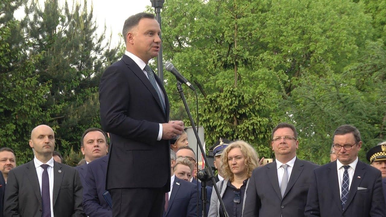 Andrzej Duda odwiedził Świętochłowice