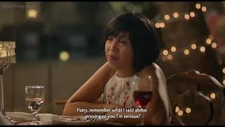 Kakai Bautsita & Ahron Villena kilig moment in HARRY & PATTY movie 2018