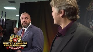 Triple H and William Regal consider Pete Dunne