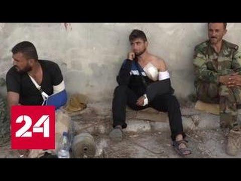 Боевики не сдаются в окружении сирийской армии