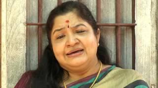 K.S.Chithra Rekhayodoppam I Interview with Chithra - Part 1 I Mazhavil Manorama
