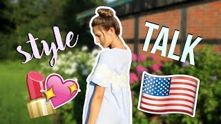 Style&talk about my exchange year 🇺🇸 my first video in English ♥︎ Jackie Alice