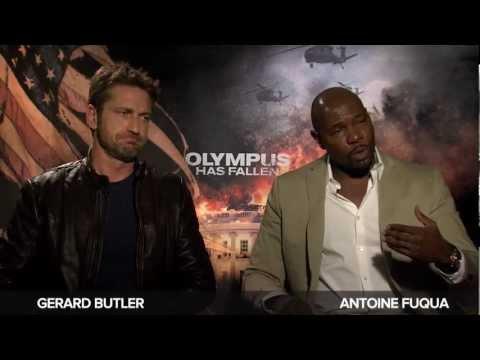 'Olympus Has Fallen' Gerard Butler And Antoine Fuqua Interview
