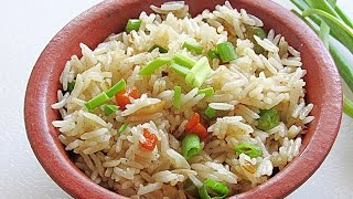 Easy Vegetable Fried Rice Recipe - How To Make Restaurant Style Vegetable Fried Rice | Nisa Homey