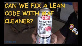 Does CRC Mass Air Flow Sensor Cleaner Really Work?