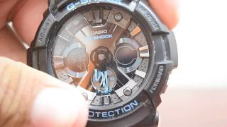 How to adjust time on Analog Digital G Shock!!!