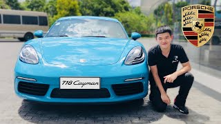 🏅PERFECT! 2018 Porsche 718 Cayman Base Review | What We Drive