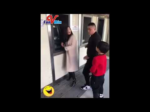 Funny Vines Try Not to Laugh Chinese - Funny Baby Prank - Viral FunMix