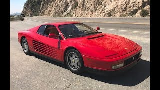 1991 Ferrari Testarossa - One Take