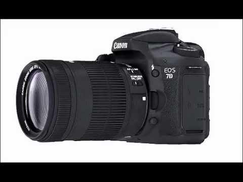 Canon EOS 7D 360 degree view
