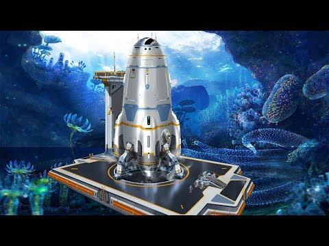 Subnautica   Ракета Нептун   Финал сюжета   Официальный релиз игры   Версия 1.0