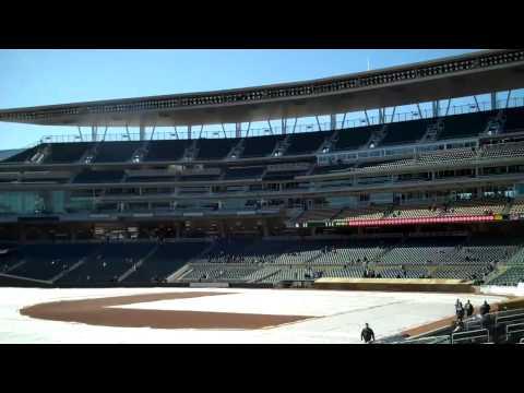 Target Field Mini Tour Row 24 Video