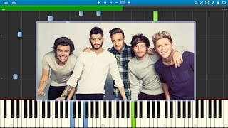 One Direction - Steal My Girl (Piano Tutorial) [Synthesia] + Sheet Music
