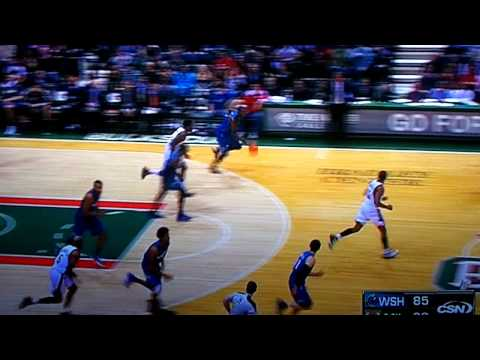 Andray Blatche breaks off Drew Gooden