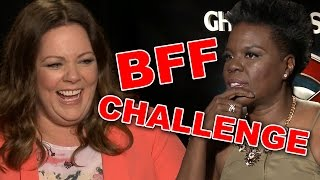 BFF CHALLENGE With Ghostbusters Cast!