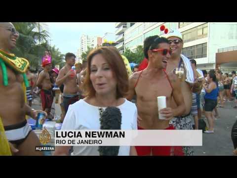 Rio carnival celebrates city's 450-year history