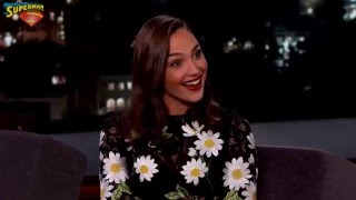 Batman v Superman - Entrevista a Gal Gadot (Wonder Woman) en Jimmy Kimmel