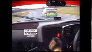 Nissan Primera BTCC 1999 - Aiello OnBoard - Knockhill Circuit