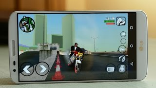 GTA San Andreas Android // GamePlay - Huida en moto