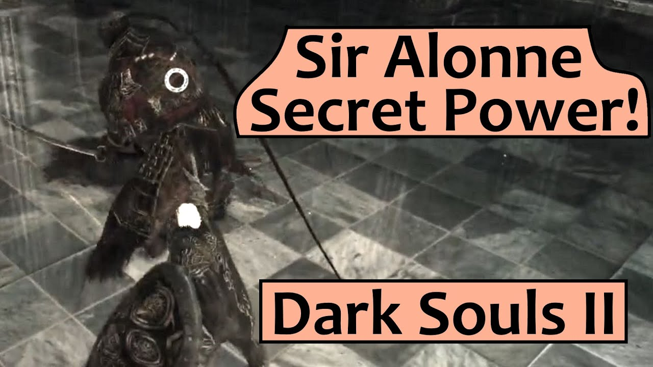Dark Souls 2 Sir Alonne Wallpaper Secret op Sir Alonne Move