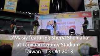 Cinta Ini Membunuhku - D` Masiv Featuring Sheryl Sheinafia - Taiwan