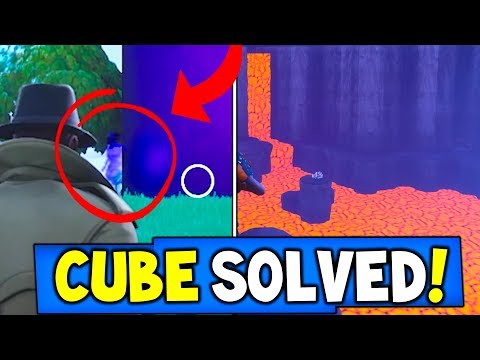 """*NEW* SOMETHING IS COMING OUT OF THE CUBE!! """"The Truth"""" Fortnite CUBE SOLVED! (Season 6 MAP CHANGES)"""